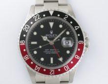 ロレックスGMTマスターⅡ 赤×黒ベゼル 16710