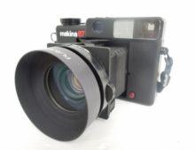 PLAUBEL Makina67 80mm 2.8フィルムカメラ