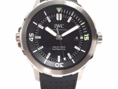IWC アクアタイマー ラバーベルト IW329001