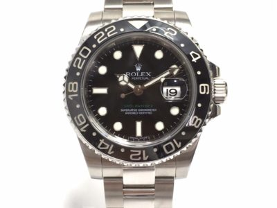 ロレックス GMTマスター2 黒ベゼル 116710LN