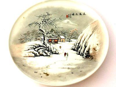 飾リ皿 中国景徳鎮製 中国骨董品